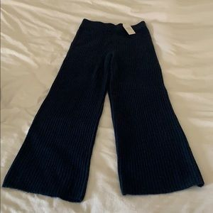 Time and Tru TT women's sweater pant blue m NWT